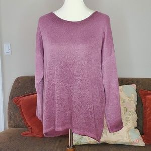 Ivy & Lace Knit Sweater Size Small